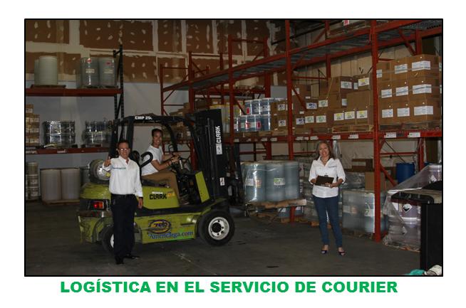 LOGÍSTICA EN EL SERVICIO DE COURIER NACIONAL E  INTERNACIONAL EN AMERICARGA.COM.