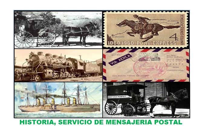 EN VIVO Y EN DIRECTO, HISTORIA DEL SERVICIO DE MENSAJERÍA